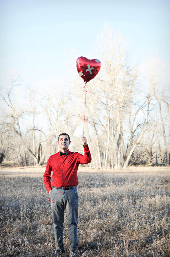 Valentine's Day Photo Shoot | Inspired by Zen Pencils | © Moriah Riona 2015