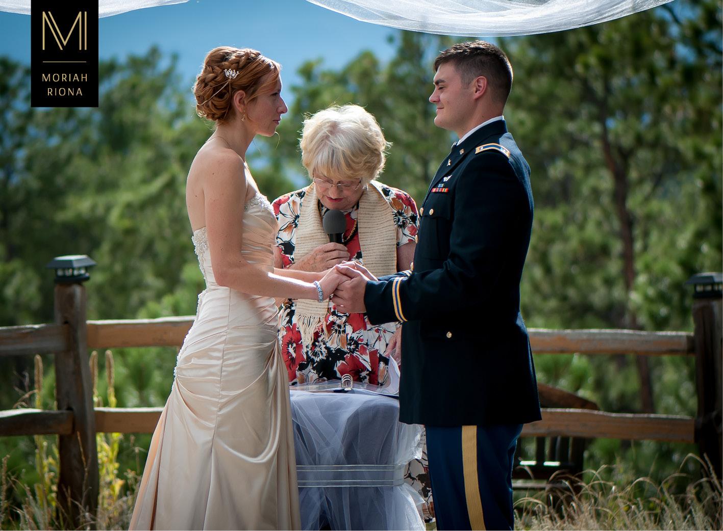Black Military Wedding