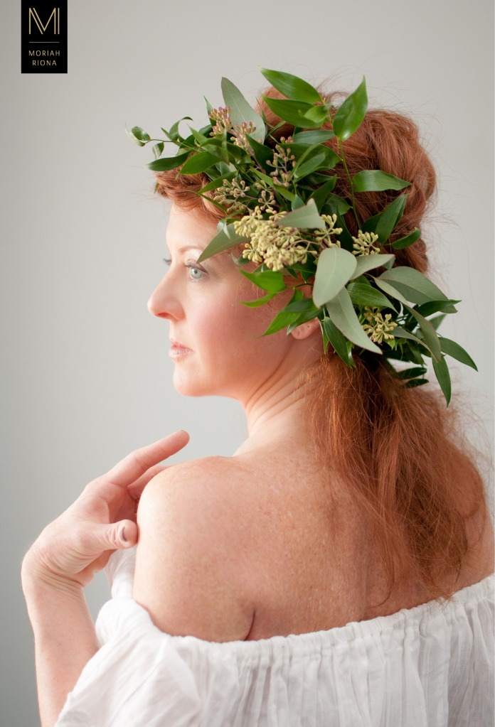 Bridal Beauty Editorial | Brides in Bloom | Floral Inspired Wedding Hairstyles & Floral Crowns